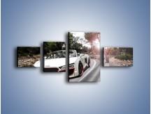 Obraz na płótnie – Audi R8 V10 Spyder – czteroczęściowy TM209W5