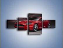 Obraz na płótnie – Aston Martin DBS Carbon Edition – czteroczęściowy TM242W5