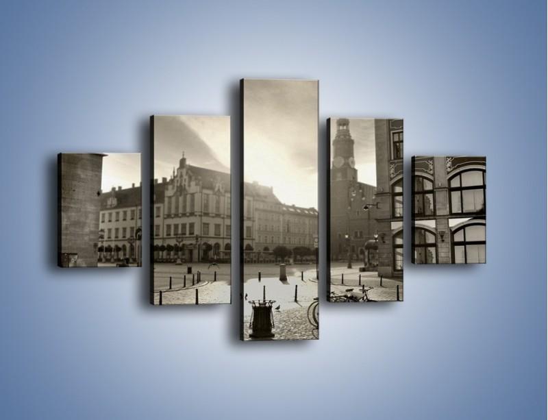 Obraz na płótnie – Rynek Starego Miasta – pięcioczęściowy AM136W1