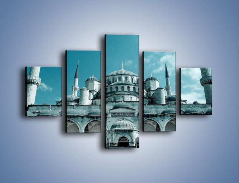 Obraz na płótnie – Taj Mahal – pięcioczęściowy AM175W1