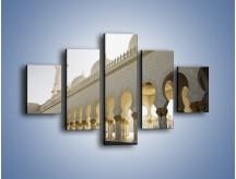 Obraz na płótnie – Bliskowschodnia architektura – pięcioczęściowy AM177W1