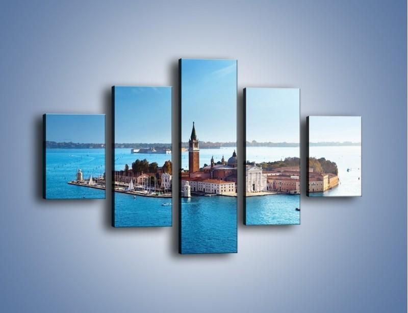 Obraz na płótnie – Wyspa San Giorgio Maggiore – pięcioczęściowy AM380W1