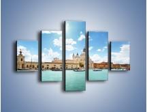 Obraz na płótnie – Canal Grande w Wenecji – pięcioczęściowy AM449W1