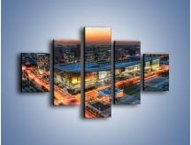 Obraz na płótnie – Centrum kongresowe CNCC w Chinach – pięcioczęściowy AM575W1