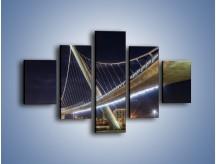 Obraz na płótnie – Harbor Drive Pedestrian Bridge – pięcioczęściowy AM578W1