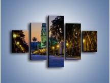Obraz na płótnie – Balboa Park w San Diego – pięcioczęściowy AM609W1