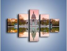 Obraz na płótnie – Kapitol Stanów Zjednoczonych – pięcioczęściowy AM742W1