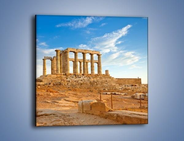 Obraz na płótnie – Antyczne ruiny – jednoczęściowy kwadratowy AM168