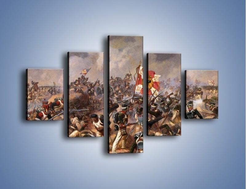 Obraz na płótnie – Wojna i jej skutki – pięcioczęściowy GR133W1