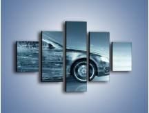 Obraz na płótnie – Auto z prędkością światła – pięcioczęściowy GR264W1