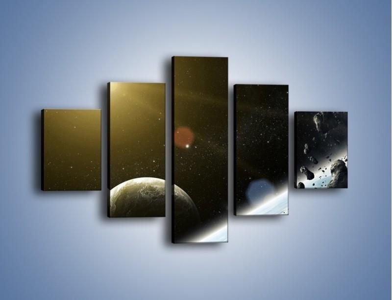 Obraz na płótnie – Dotrzeć między planety – pięcioczęściowy GR534W1