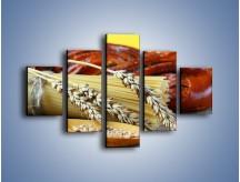 Obraz na płótnie – Chleb pszenno-kukurydziany – pięcioczęściowy JN090W1