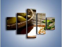 Obraz na płótnie – Bogactwa wydobyte z oliwek – pięcioczęściowy JN270W1
