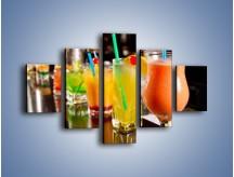 Obraz na płótnie – Barmańskie drinki – pięcioczęściowy JN433W1