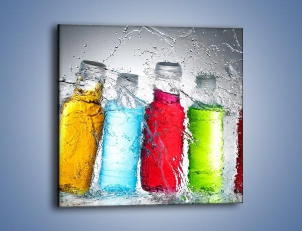 Obraz na płótnie – Alkohol zatopiony w wodzie – jednoczęściowy kwadratowy JN584