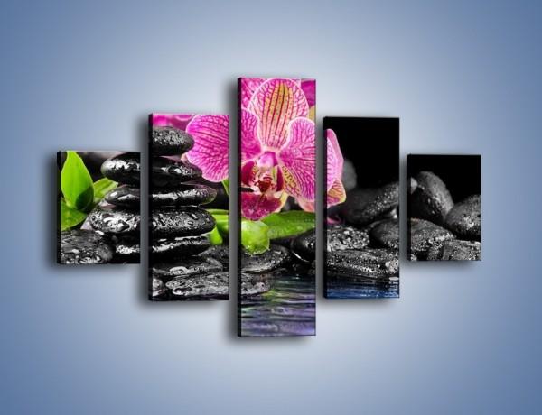 Obraz na płótnie – Kwiat i nie tylko – pięcioczęściowy K309W1