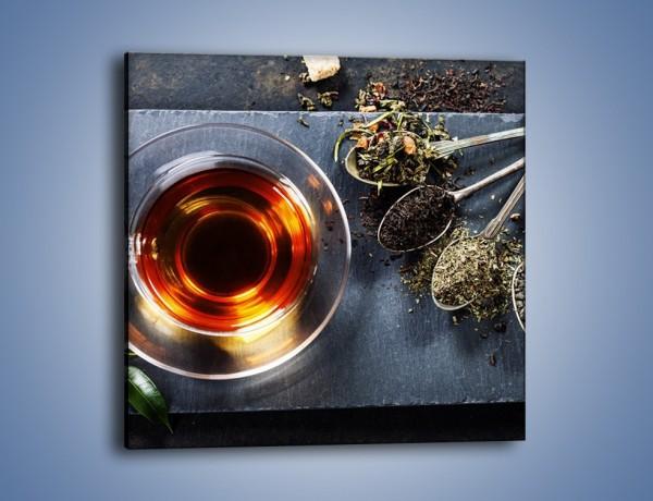 Obraz na płótnie – Herbata i inne dodatki – jednoczęściowy kwadratowy JN596
