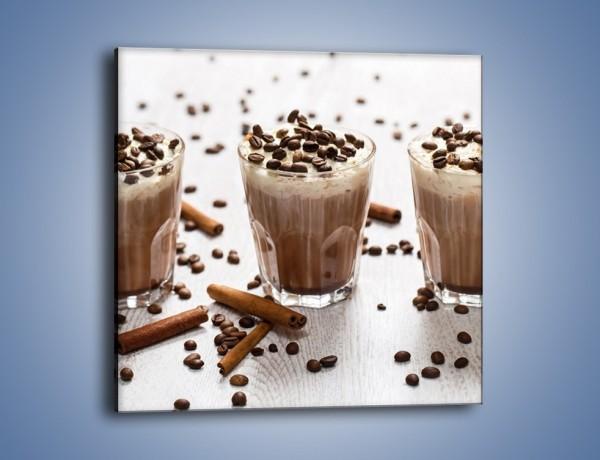 Obraz na płótnie – Mrożona kawa na upały – jednoczęściowy kwadratowy JN609