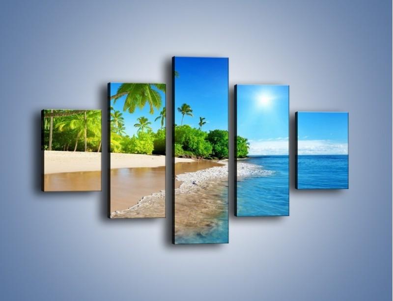 Obraz na płótnie – Bajeczne wakacyjne wspomnienia – pięcioczęściowy KN1110AW1