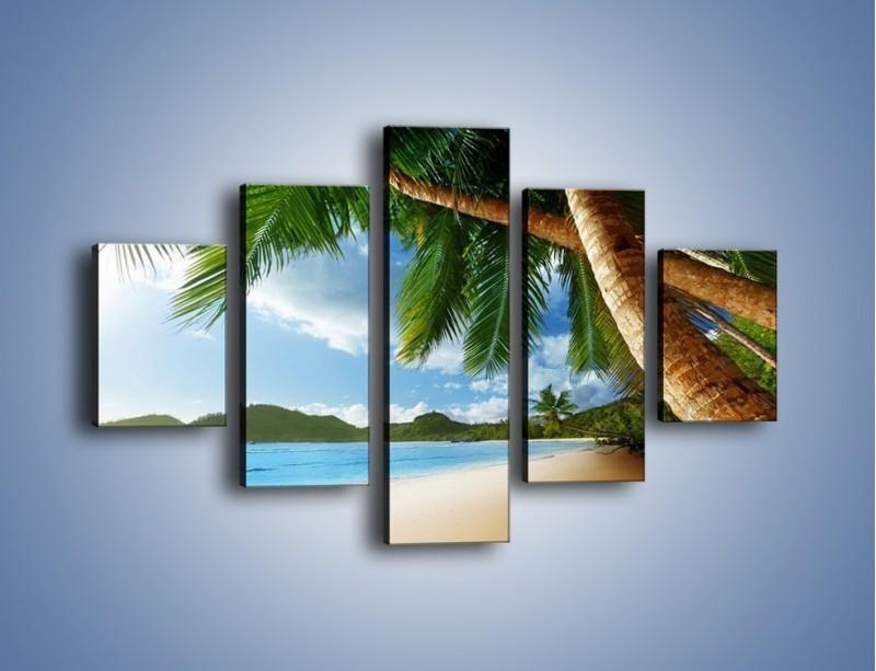 Obraz na płótnie – Idealne miejsce na ziemi – pięcioczęściowy KN847W1