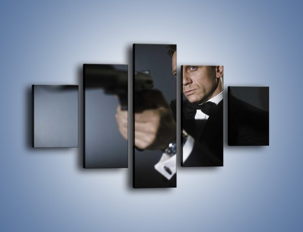 Obraz na płótnie – Bond. james bond – pięcioczęściowy L239W1