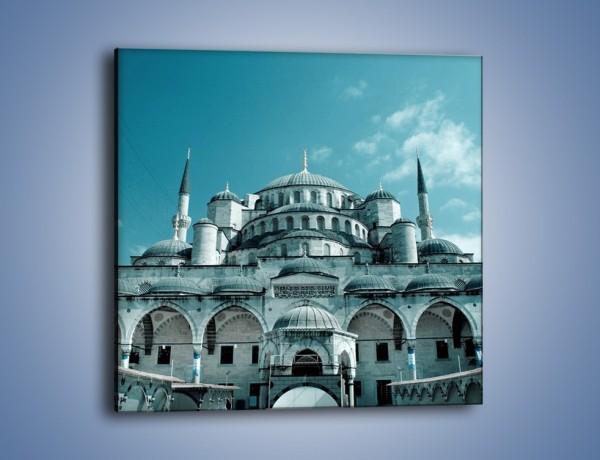 Obraz na płótnie – Taj Mahal – jednoczęściowy kwadratowy AM175