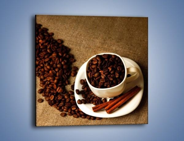 Obraz na płótnie – Kierunek w stronę kawy – jednoczęściowy kwadratowy JN643