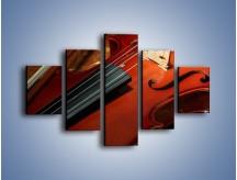 Obraz na płótnie – Instrument i muzyka poważna – pięcioczęściowy O025W1