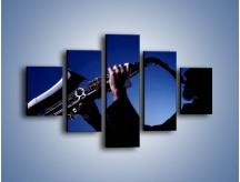 Obraz na płótnie – Koncert na saksofonie – pięcioczęściowy O110W1