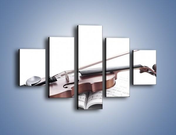 Obraz na płótnie – Oprawa muzyczna – pięcioczęściowy O186W1