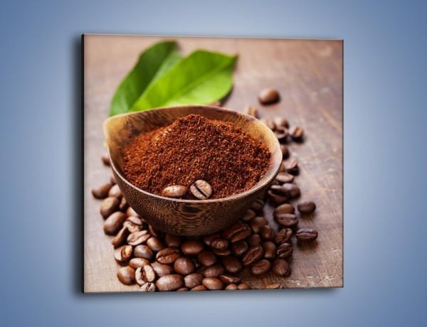 Obraz na płótnie – Odrobina zmielonej kawy – jednoczęściowy kwadratowy JN647