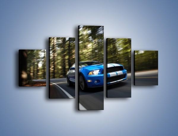 Obraz na płótnie – Ford Shelby GT500 – pięcioczęściowy TM039W1