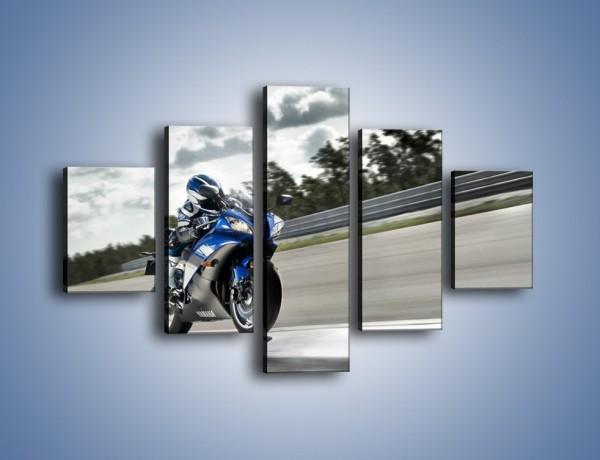 Obraz na płótnie – Yamaha R6 – pięcioczęściowy TM045W1