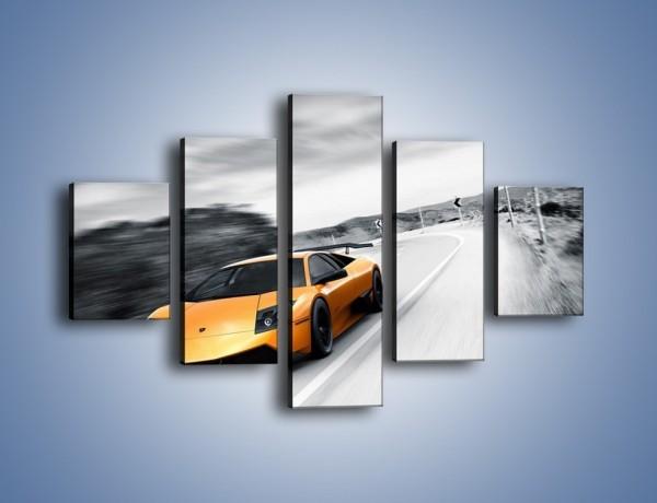 Obraz na płótnie – Lamborghini Murcielago – pięcioczęściowy TM058W1