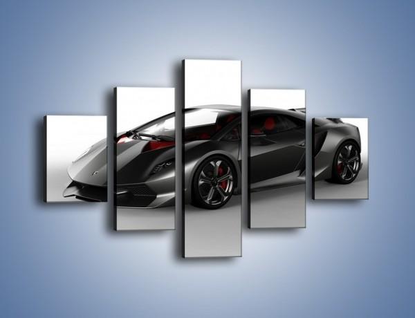 Obraz na płótnie – Lamborghini Sesto Elemento Concept – pięcioczęściowy TM060W1