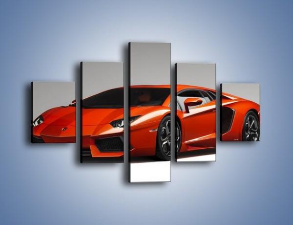 Obraz na płótnie – Lamborghini Aventador – pięcioczęściowy TM067W1