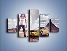 Obraz na płótnie – Chevrolet Camaro – pięcioczęściowy TM079W1