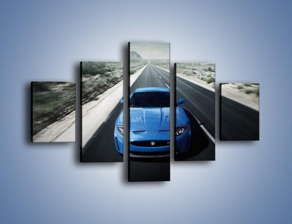 Obraz na płótnie – Jaguar XKR-S – pięcioczęściowy TM081W1