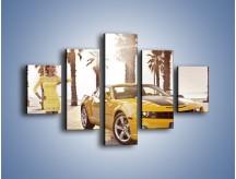 Obraz na płótnie – Chevrolet Camaro Coupe Europe – pięcioczęściowy TM083W1