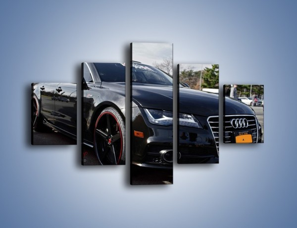 Obraz na płótnie – Audi A7 D2forged Wheels – pięcioczęściowy TM099W1