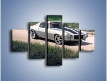 Obraz na płótnie – Chevrolet Camaro 1988 – pięcioczęściowy TM105W1