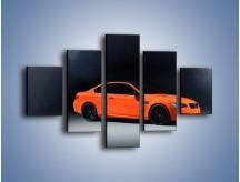 Obraz na płótnie – BMW M3 E92 Coupe Orange – pięcioczęściowy TM168W1