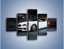 Obraz na płótnie – BMW M6 F13 Vossen Wheels – pięcioczęściowy TM169W1