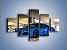 Obraz na płótnie – Audi R8 – pięcioczęściowy TM180W1
