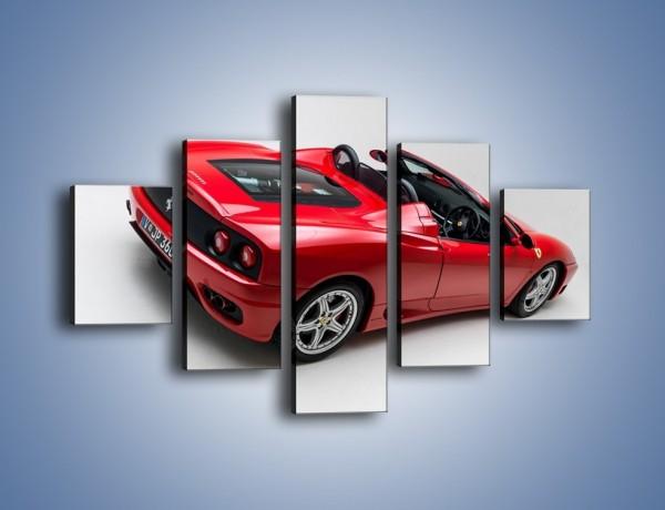 Obraz na płótnie – Ferrari 360 Spider – pięcioczęściowy TM182W1
