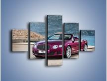 Obraz na płótnie – Bentley Continental Speed GT – pięcioczęściowy TM187W1