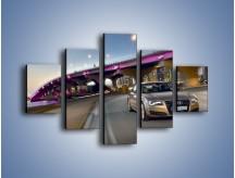 Obraz na płótnie – Audi A8 – pięcioczęściowy TM188W1