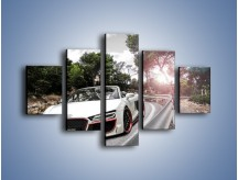 Obraz na płótnie – Audi R8 V10 Spyder – pięcioczęściowy TM209W1