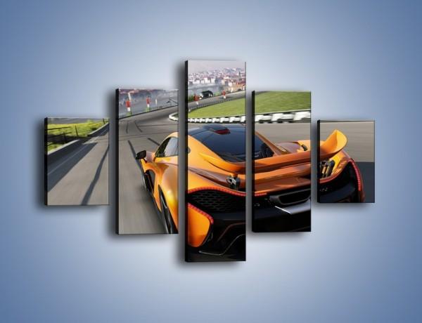 Obraz na płótnie – McLaren P1 – pięcioczęściowy TM234W1