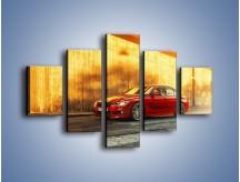Obraz na płótnie – BMW 3 F44 – pięcioczęściowy TM235W1